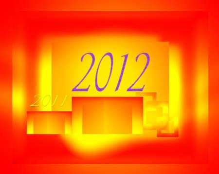 make summary: New Year, 2012 on the podium