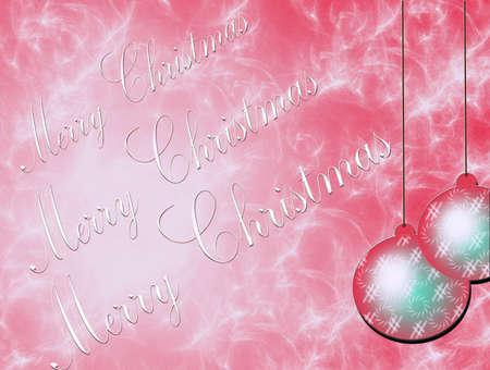 Christmas card, Christmas decorations Stock Photo - 10954324