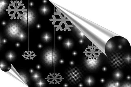 make summary: Merry Christmas illustration , Happy New Year Stock Photo