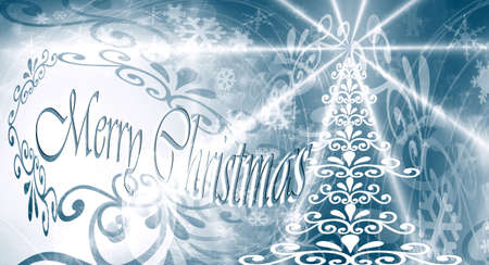 Merry Christmas, Christmas ice Stock Photo - 11094138