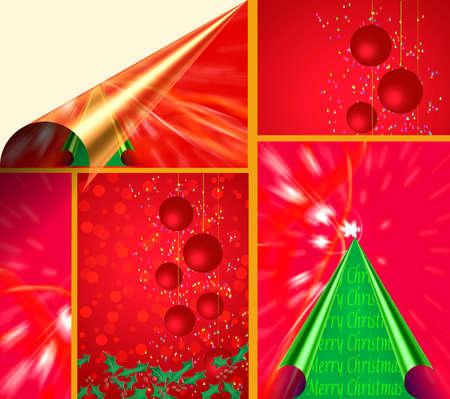 make summary: Christmas Tree Card litmus paper
