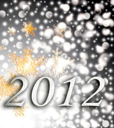 New Year 2012 Stock Photo - 11397985