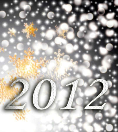 New Year 2012 Stock Photo - 11397985