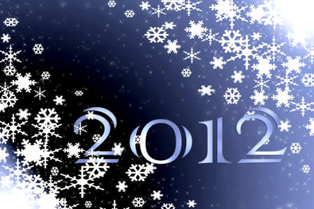 2012 Happy New Year Stock Photo - 11397987