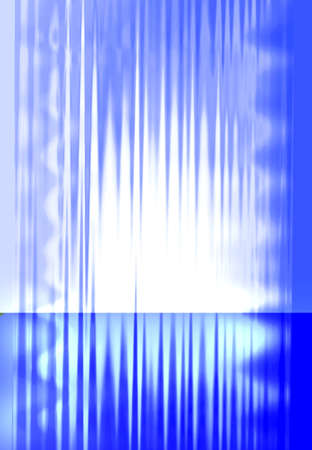Blue wet glass background photo