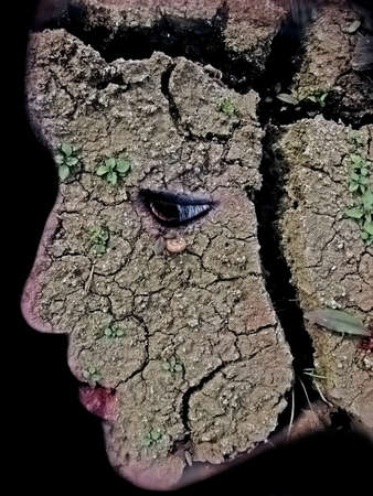 madre tierra: La madre tierra Foto de archivo