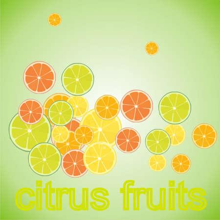 frutas con vitamina C Foto de archivo