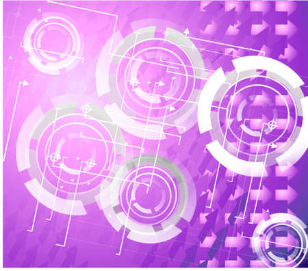 purple abstraction Stock Photo - 13578059
