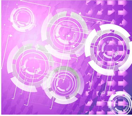 purple abstraction Stock Photo - 13578059