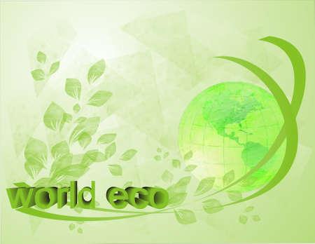 World eco, eart photo