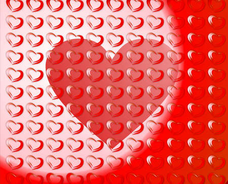 Hearts Frame Stock Photo - 13578082