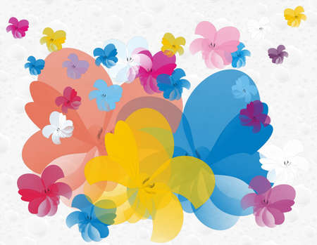 floral art Stock Photo - 13784895