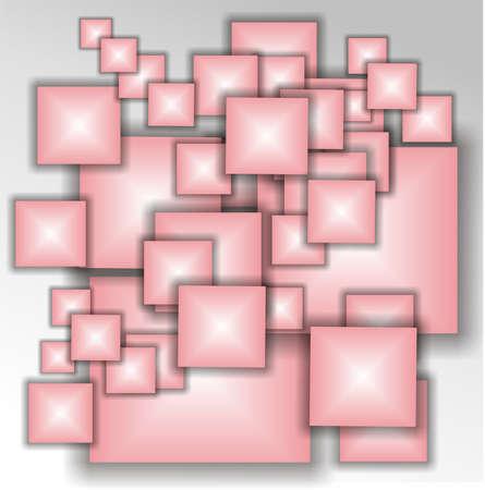 subtlety: squares pink
