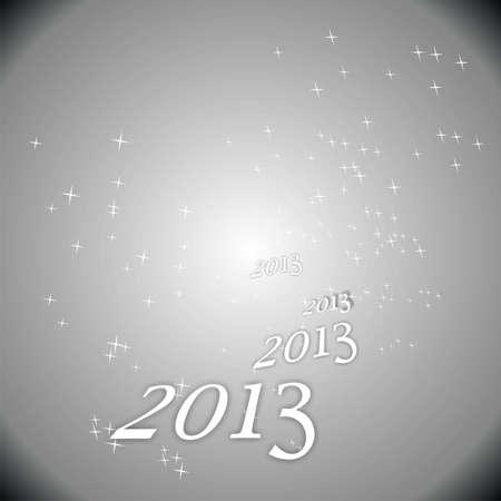 parting merry christmas: nuovo anno 2013 grigio