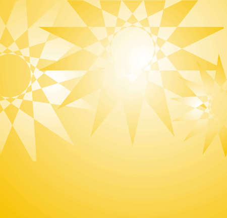 yellow star background photo