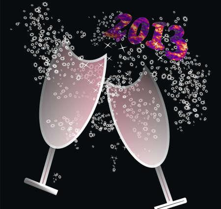 new year 2013 Stock Photo - 16169903
