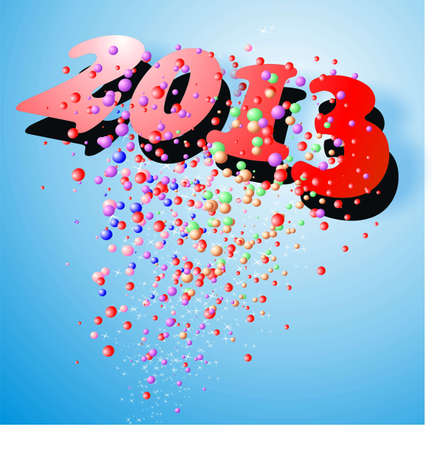 new year 2013 Stock Photo - 16169911