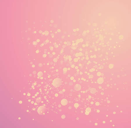 pink background bubble Stock Photo - 16169905
