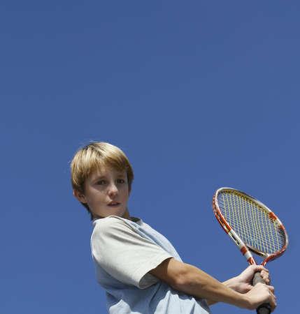 children in the practice of tennis