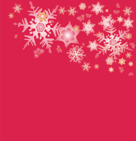 red snow new year  Stock Photo - 16169936