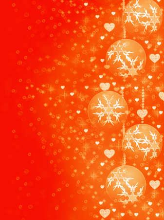 parting merry christmas: bellissimo sfondo di decorazioni natalizie