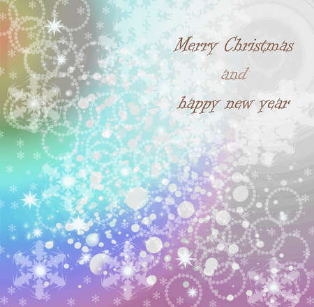 parting merry christmas:  Merry Christmas and happy new year Stock Photo