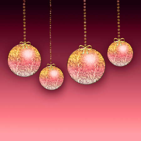 parting merry christmas: Natale ornamenti