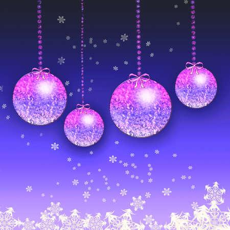 parting merry christmas: Natale sfondo in blu