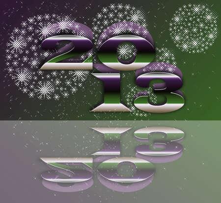 parting merry christmas: 2013 fuochi d'artificio