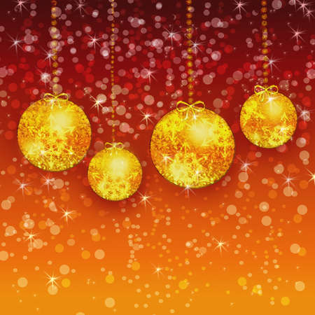 parting merry christmas: Christmas  ornaments Stock Photo