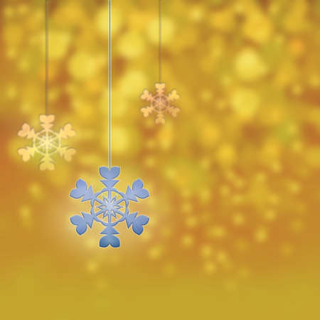 parting merry christmas: Christmas ornaments and new year stars