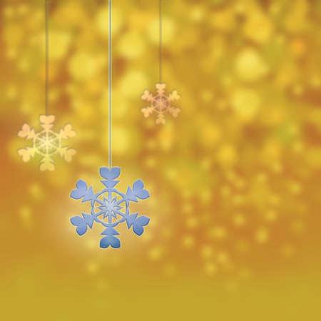 parting merry christmas: Ornamenti di Natale e stelle di nuovo anno