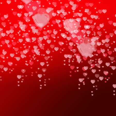 reloaded: hearts background Stock Photo