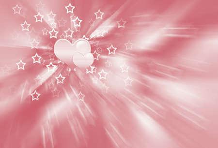 pink hearts photo