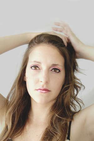 lunares rojos: maquillaje natural