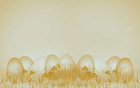 golden easter on the farm photo