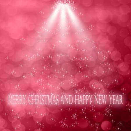 liquidate: Merry Christmas and Happy New Year Stock Photo