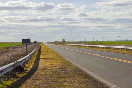 personal perspective: Signage on the asphalt road