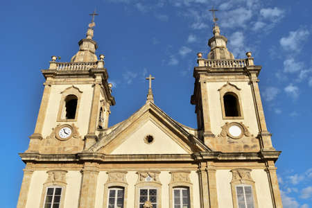 Church known as old basilica, first to receive the image of the patron saint of Brazil