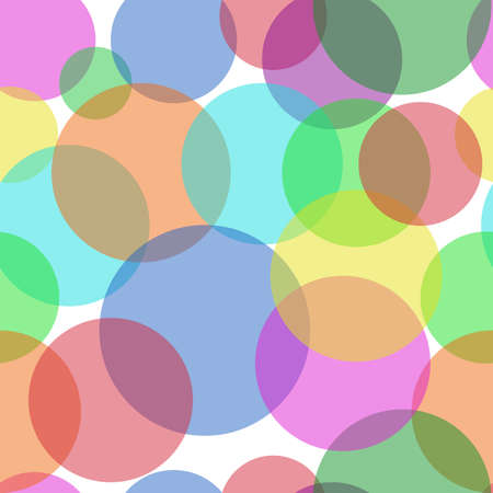 Sweet Bubbles. Seamless Texture for background image on websites, e-mails. Illustration
