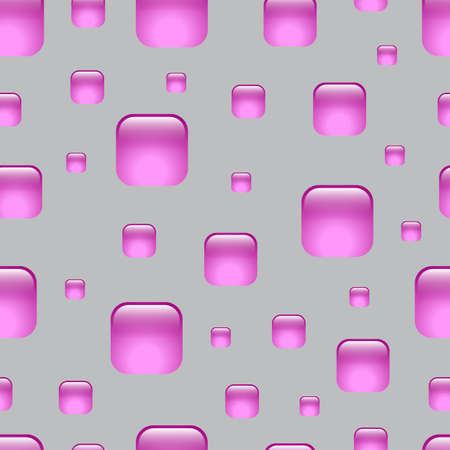 polygraphy: Seamless lilac abstract geometric pattern. Squares with rounded corners. Background for the web, email, print products, polygraphy.