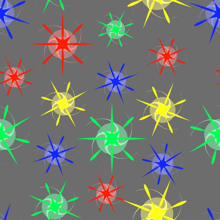 easiness: Abstract Stars. Seamless Texture for background image on websites, e-mails.