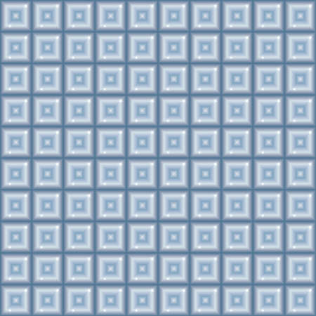 Seamless geometric pattern with effect of glass blocks.