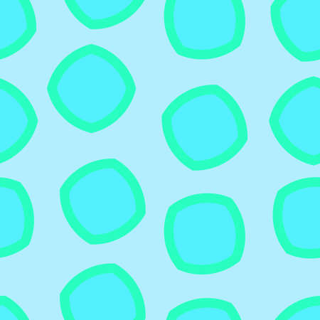 Seamless simple pattern in turquoise color. Pattern for wrapping. Pattern for fabric coloring. Ilustração