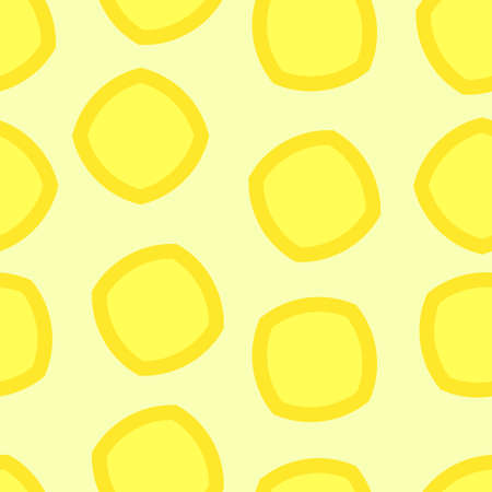 Seamless simple pattern in lemon color. Pattern for wrapping. Pattern for fabric coloring.