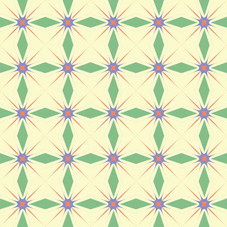 Abstract seamless geometric pattern. Seamless texture. Fabric pattern