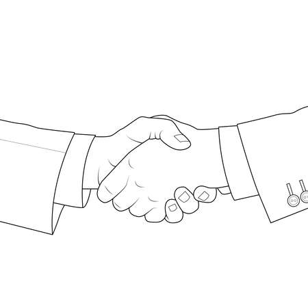 Shake hands each other