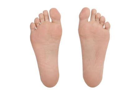 Fuß Füße Sohlenunterseite Zehen Paar