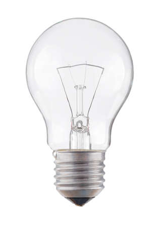 focos de luz: lámpara de luz bombilla Foto de archivo