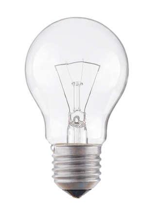 bombilla: l�mpara de luz bombilla Foto de archivo
